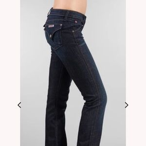 Hudson Jeans- Straight Leg, Dark Wash